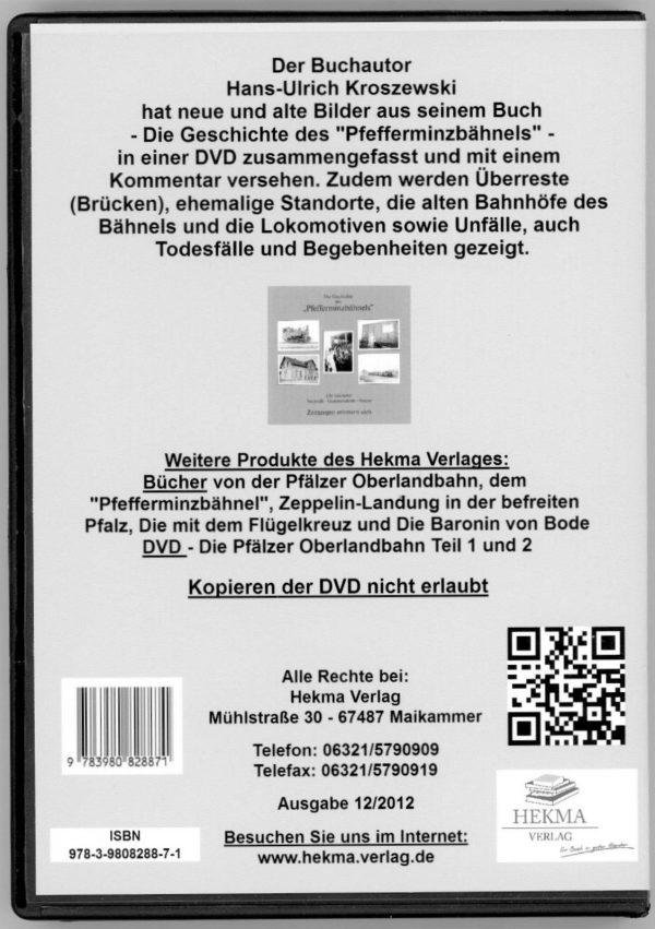 Zwei DVDs - Die Pfälzer Oberlandbahn Teil 1 und 2