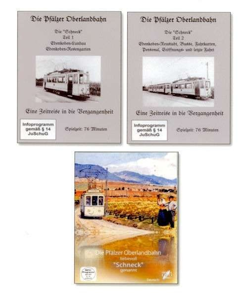 """Drei DVDs - """"Schneck"""" 1 und 2 und Version Museum Edenkoben"""