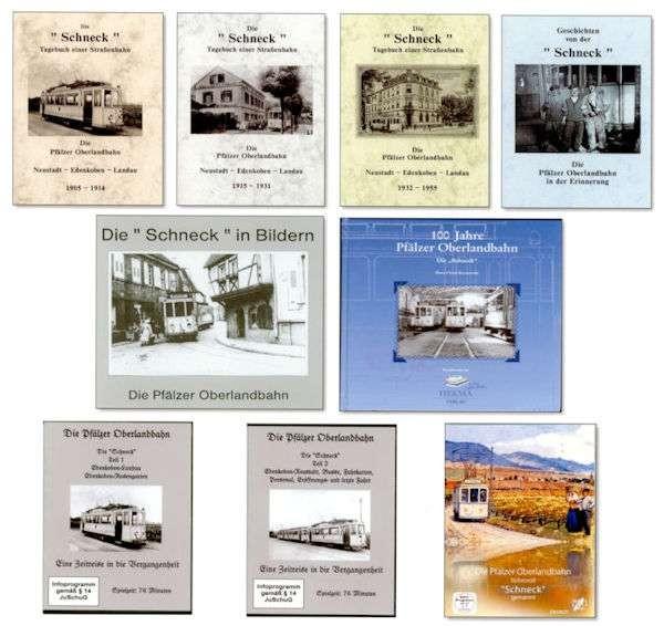 """Sechs Bücher von der """"Schneck"""" und drei DVDs"""