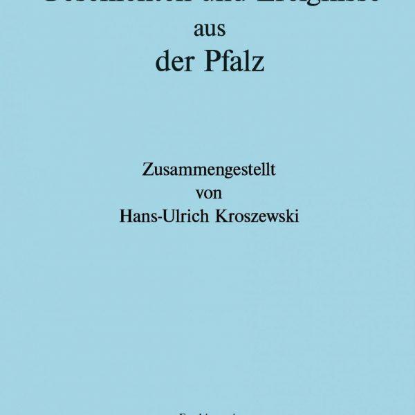 Neues Buch in Planung - Geschichten und Ereignisse aus der Pfalz