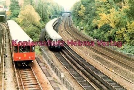 Hamburg - S- und U-Bahn - Nahe Berliner Tor - U2 und S-Bahn