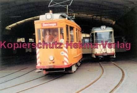 Kiel Straßenbahn - Arbeitswagen Nr. 354 im Depot - Bild 1