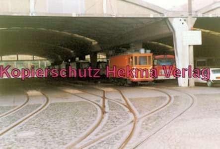 Straßenbahn Kiel - Arbeitswagen Nr. 354 im Depot - Bild 2