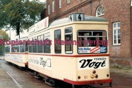 Kiel Straßenbahn - Linie 4 -Wagen  Nr. 61