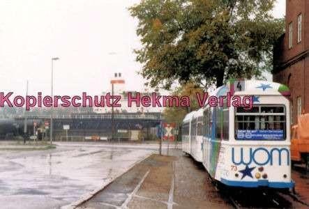 Kiel Straßenbahn - Linie 4 - Endstation Holtenau-Fähre, Wagen Nr. 73