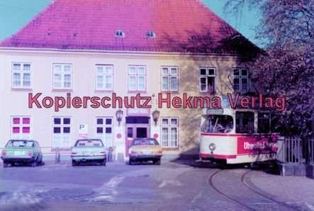 "Kiel Straßenbahn - Linie 4 - Wellingdorf Endschleife Gasthaus ""Stadt Kiel"" - Wagen 271"