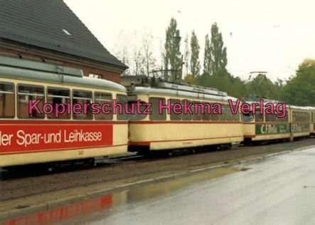 Kiel Straßenbahn - Linie 4 - Wellingdorf - Wagen