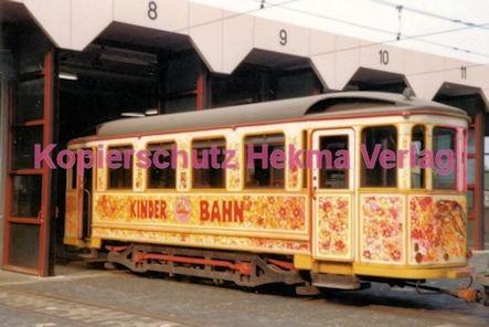 Darmstadt Straßenbahn - Depot Böllenfalltor - Kinder Bahn - Bild 2