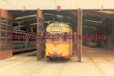 Karlsruhe Straßenbahn - Depot Tullastr. - GlTw. Nr. 218
