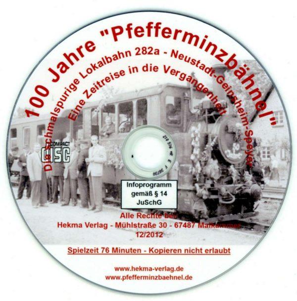 """DVD - 100 Jahre """"Pfefferminzbähnel"""""""