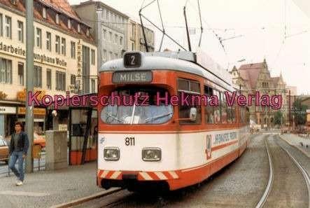 Bielefeld Straßenbahn - Linie 2 - Wagen Nr. 811