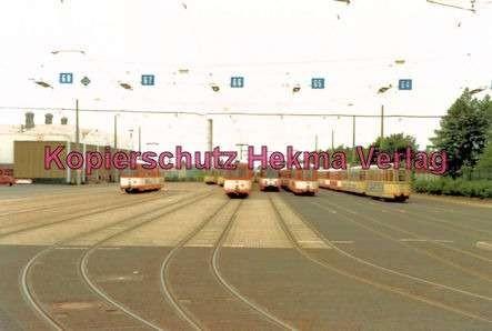 Bielefeld Straßenbahn - Depot - Wagen zur Ausfahrt bereit