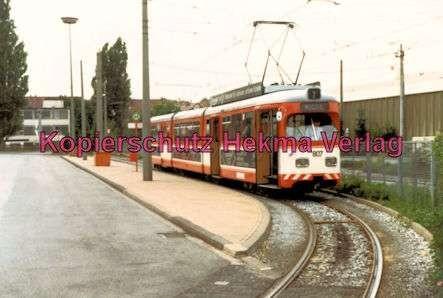 Bielefeld Straßenbahn - Depot - Linie 2 - Wagen Nr. 807