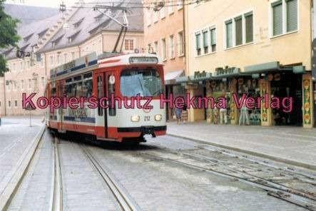 Freiburg Straßenbahn - Linie 4 - Wagen Nr. 212