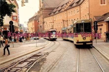 Freiburg Straßenbahn - Linie 4 - Wagen Nr. 201 - Bild 1