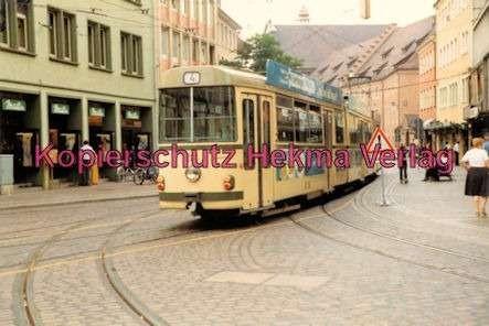 Freiburg Straßenbahn - Linie 4 - Wagen Nr. 201 - Bild 2