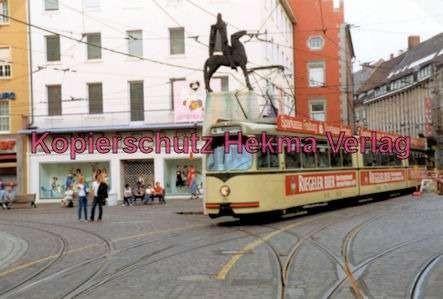 Freiburg Straßenbahn - Linie 4 - Wagen Nr. 204