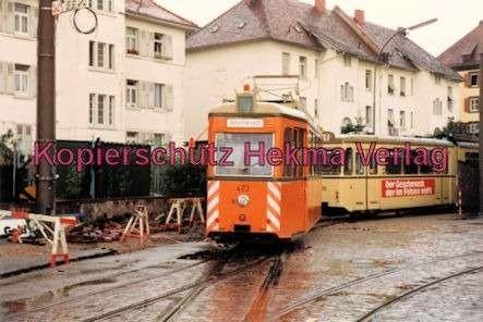 Freiburg Straßenbahn - Depot - Arbeitswagen Nr. 403 - Bild 1