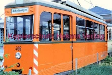 Freiburg Straßenbahn - Depot - Arbeitswagen Nr. 403 - Bild 3
