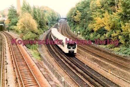 Hamburg - S-Bahn - Nahe Berliner Tor - Eine S-Bahn