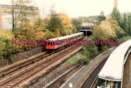 Hamburg - S- und U-Bahn - Nahe Berliner Tor - U2 und S1
