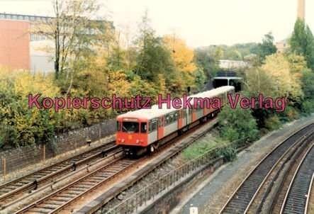 Hamburg - U-Bahn - Nahe Berliner Tor - U2
