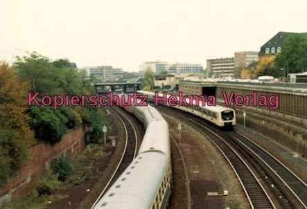 Hamburg - S-Bahn - Nahe Berliner Tor - Zwei Bahnen