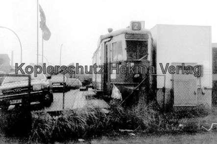 Hamburg Straßenbahn - Wagen Nr. 3551 als Imbisswagen - 1
