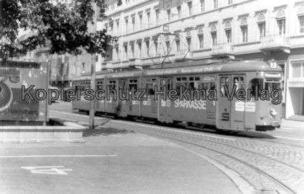 Heidelberg Straßenbahn - Linie 3 Wagen Nr. 204