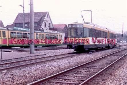 Karlsruhe Straßenbahn - Ettlingen-Stadt - Wagen Nr. 503