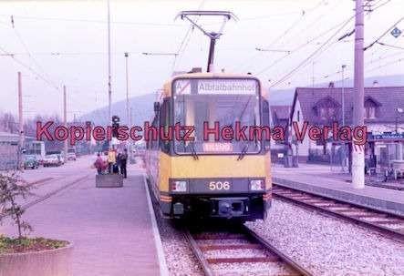 Karlsruhe Straßenbahn - Ettlingen-Stadt - Wagen Nr. 506