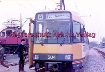 Karlsruhe Straßenbahn - Ettlingen-Stadt - Wagen Nr. 504 - Bild 2