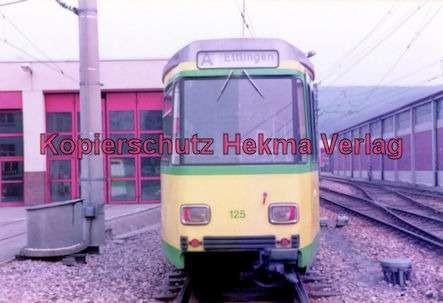 Karlsruhe Straßenbahn - Ettlingen-Stadt-Depot - Wagen Nr. 125