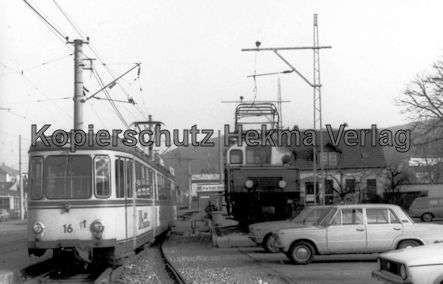 Karlsruhe Albtalbahn - Ettlingen Stadtbahnhof - Wagen Nr. 16