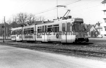 Karlsruhe Albtalbahn - Ettlingen Stadtbahnhof - Wagen Nr. 23