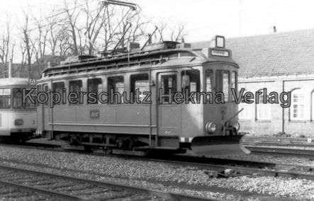Karlsruhe Albtalbahn - Sonderwagen Nr. 71 mit Schneepflug - Bild 1