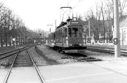 Karlsruhe Albtalbahn - Sonderwagen Nr. 71 mit Schneepflug - Bild 2