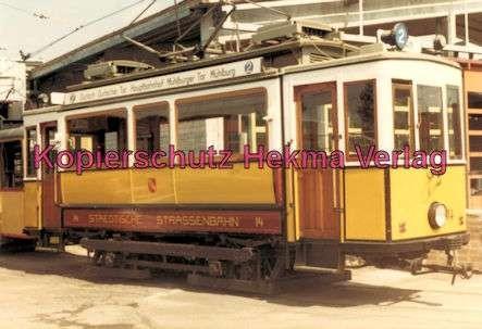 Karlsruhe Straßenbahn - Wagen Nr. 14 - Baujahr 1899 - Herbrand/Köln - 2