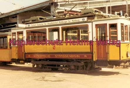 Karlsruhe Straßenbahn - Wagen Nr. 14 - Baujahr 1899 - Herbrand/Köln - 4
