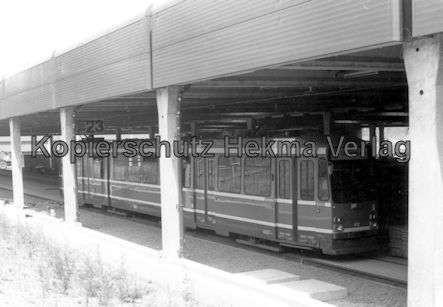 Kassel Straßenbahn - Depot Wilhelmshöhe - Wagen Nr. 402 - Bild 1