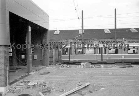 Kassel Straßenbahn - Depot Wilhelmshöhe - Wagen Nr. 401 - Bild 2