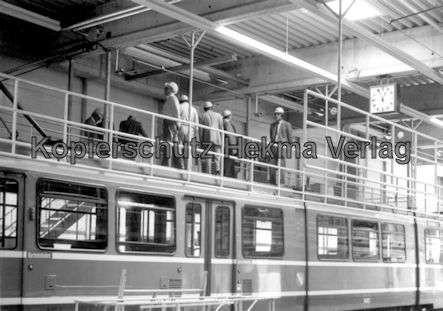 Kassel Straßenbahn - Depot Wilhelmshöhe - Wagen - Bild 2