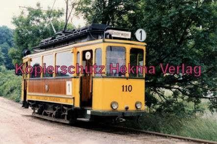 Kassel Straßenbahn - Linie 1 - Sonderwagen Nr. 110 - Bild 1