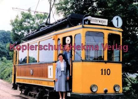 Kassel Straßenbahn - Linie 1 - Sonderwagen Nr. 110 - Bild 2