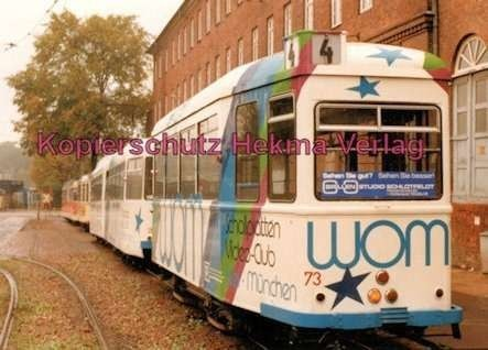 Kiel Straßenbahn - Linie 4 - Wagen Nr. 73