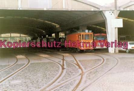 Kiel Straßenbahn Arbeitswagen Nr 354 Im Depot Bild 1 Hekma