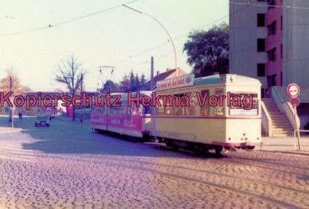 Kiel Straßenbahn - Linie 4 - Endstation Holtenau-Fähre, Wagen