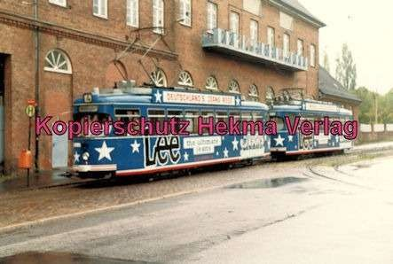 Kiel Straßenbahn - Linie 4 - Endstation Holtenau-Fähre - Wagen