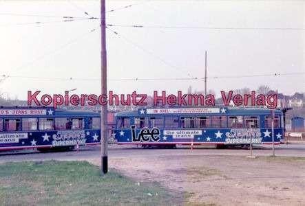 Kiel Straßenbahn - Endstation Holtenau - Linie 4 - Wagenzug - Bild 2