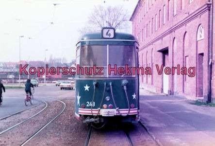 Kiel Straßenbahn - Endstation Holtenau - Linie 4 - Wagen Nr. 248